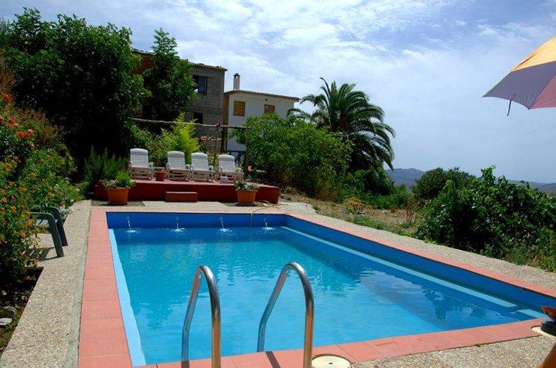 Apartment in Spain, Válor: Pool