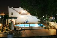 Villa in Spain, Blue Lagoon: Villa at night with the lit pool