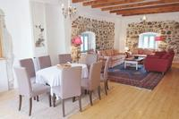 Farm_house in Slovenia, Primorska: The Main Floor has an open plan kitchen / dining room / living ..