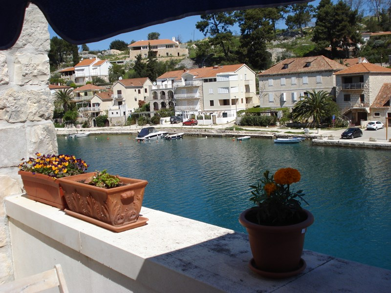 Apartment in Croatia, Island of Brac: View
