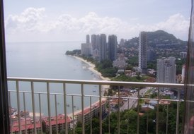 Condo Opposite the Beach in Tanjung Bungah, Penang.