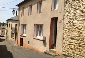 Traditional Breton town house located in Central Brittany