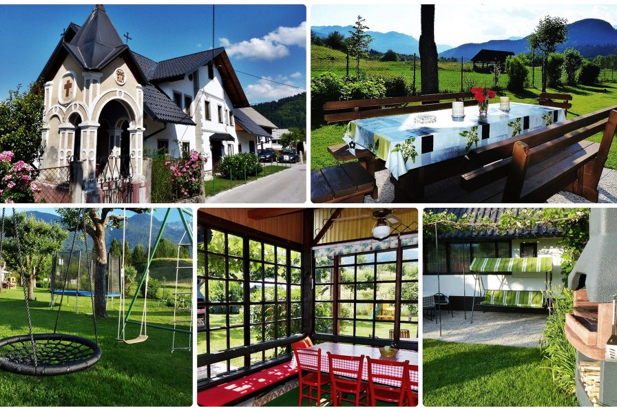 Owners abroad Holiday house Zotlar Bohinj