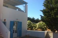 House in Greece, Mykonos: Outside garden with veranda and great view