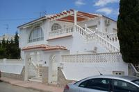 Villa in Spain, Villamartin: Front view of detached villa in Blue Lagoon