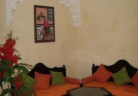 A luxury apartment set in  a hotel area of Marrakech 119m2