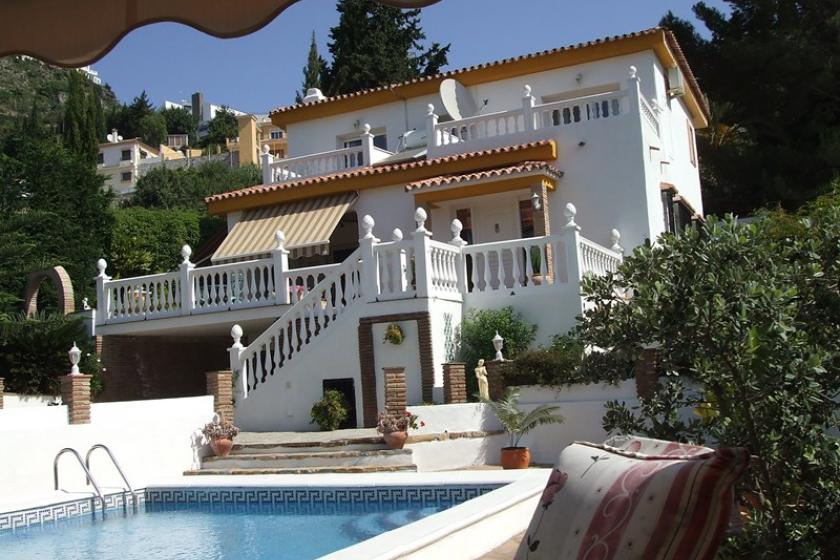 Owners abroad La Herradura - detached villa with private pool & mature garden