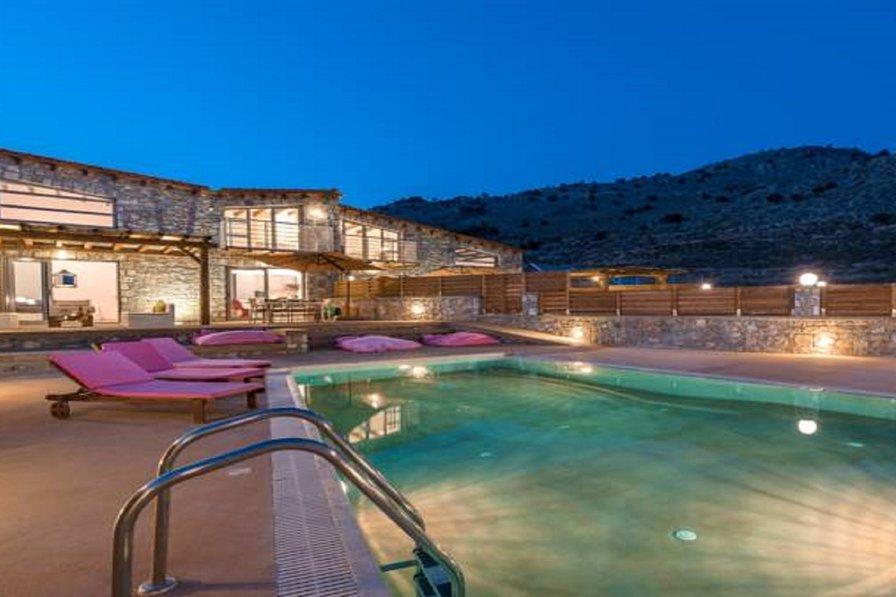 Lindos Seastone Villa B