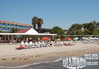 Villa in Turkey, Silver Sand Beach: DiamondSandBeach Is a sandy long beach few mins walk from Vill..