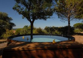 Cottage Ginestas, 1 bedroom, private pool