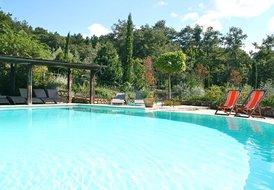VILLA in VAL D'ORCIA close to Pienza sleeps 14 people