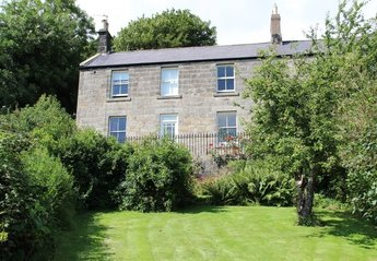 Cottage in United Kingdom, Northumberland National Park: Front of cottage overlooking Rothbury & t..
