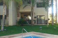 Apartment in Spain, Roda Golf and Beach Resort: View of our apartment from the pool.
