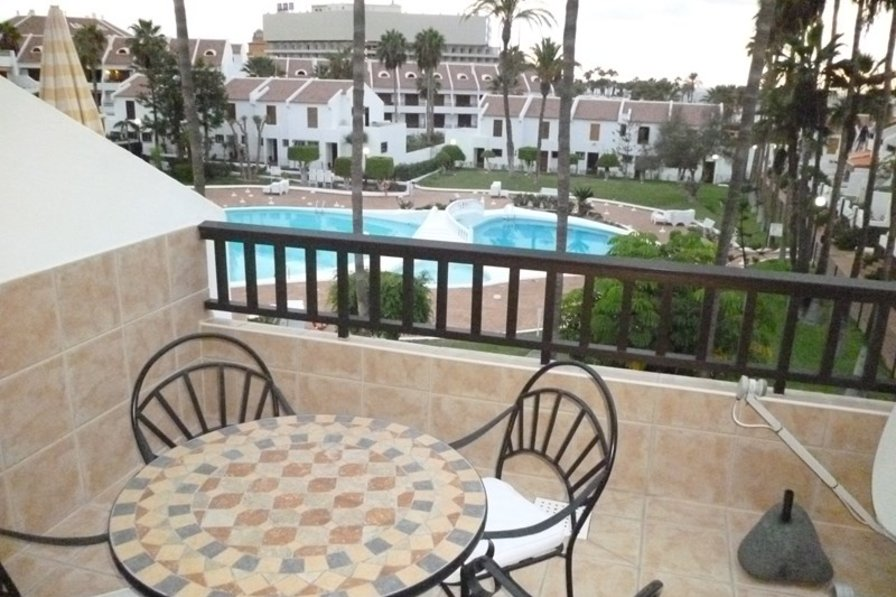 Apartment in Spain, Playa de las Américas: The lovely view from the balcony
