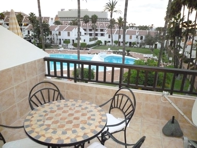 Apartment in Spain, Playa de las Americas: The lovely view from the balcony