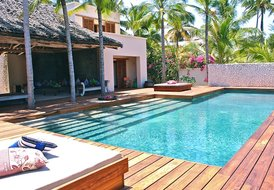 Fantastic Luxury Villa on the beach of the magic isle of Zanzibar