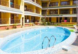 12 guests, 4 Bedrooms @ Baga-Arpora, North Goa