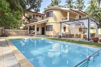 Villa in India, Calangute: Villa Calangute Phase 3 with swimming pool, kids pool and pergola.
