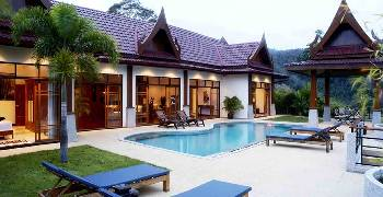 Villa in Thailand, Patong beach: Front site