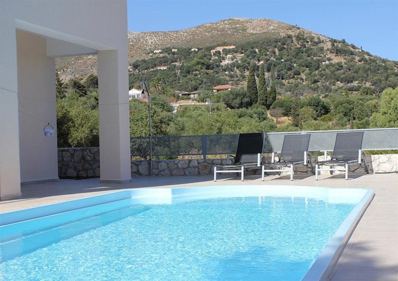Villa in Greece, Skala: Pool area