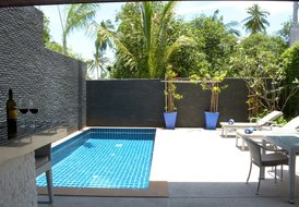 Bright, Comfortable Pool Villa, near Choeng Mon