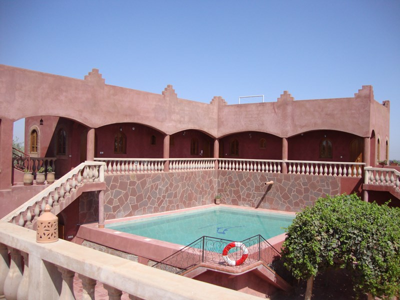 Villa in Morocco, Marrakech: Bedrooms overlooking private swimming pool