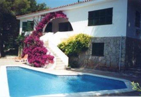 Villa in Sant Tomàs, Menorca: External view