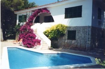 Villa in Spain, Sant Tomàs: External view