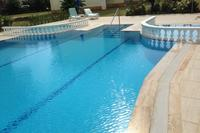 Villa in Turkey, Payallar: One of the two pools with baby pool