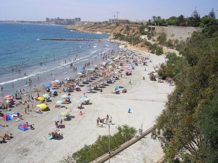 Apartment in Spain, Cabo Roig: Cabo Roig beach