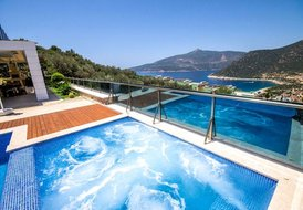 Villa Luks Kalkan, Luxury villa with sauna and beautiful sea view