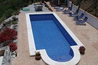 Studio_apartment in Spain, Comares: The Lovely 8 x 4 Roman Stepped Pool at Vine Ridge Retreats