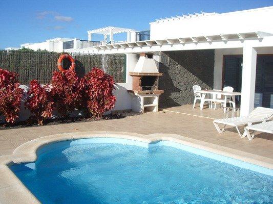 Villa with private pool at Playa Blanca