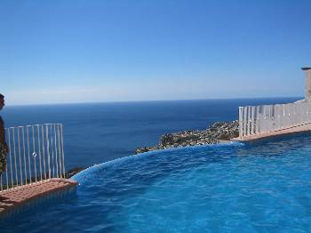 Apartment in Spain, Benitachell: View from infinity pool
