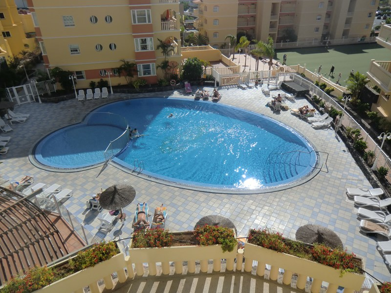 Apartment in Spain, Golf del Sur: The fantastic swimming pool at the complex