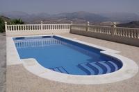 Villa in Spain, Comares: The Gorgeous 8 x 4 m Pool At Casa La Trocha