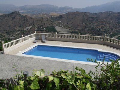 Villa in Spain, Comares: Outstanding Views From The Pool At Casa La Trocha