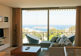 Fabulous Sea View Villa Diamond with Private Pool in Aegean Hills