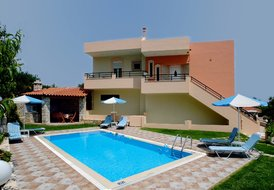 Villas Padelis and Marie with private pools and sea view