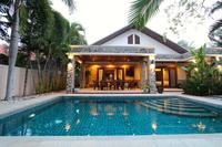 Villa in Thailand, Prachuabkhirikhan: Terrace and Pool View
