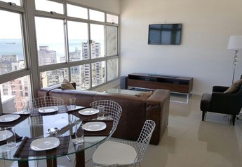 Apartment in Brazil, Barra: Dining area
