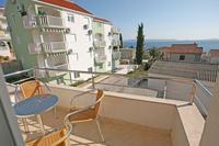Apartment in Croatia, Seget Donji: Balcony and Sea view, Apartments Kairos, Seget Vranjica, Trogir