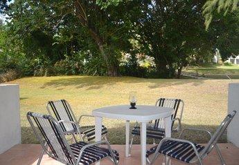 Apartment in Barbados, Rockley: Patio (now includes a bar-b-que)