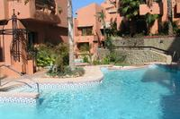 Apartment in Spain, Elviria: 1 of the 3 swimming pools