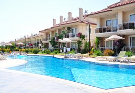 30 Metres to Beach 2 Bedroom Duplex Apartments in Calis Beach