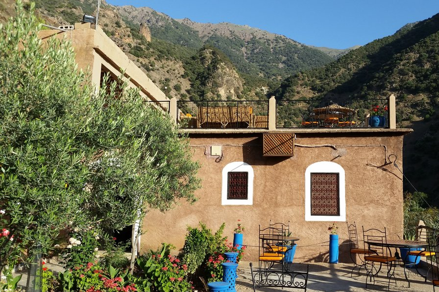 Lodge in Morocco, High Atlas Mountains
