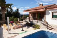 Villa in Spain, Busot: Front terrace.