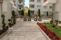 Apartment in Turkey, Oba: Courtyard with pool