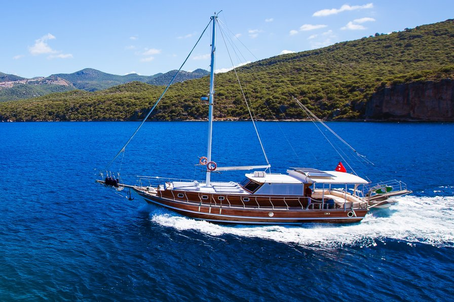 Boat in Turkey, Kalkan