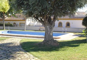 Villa in Spain, Los Pinicos: Communal Pool Area, Jus a Few Yards From Villa Monte